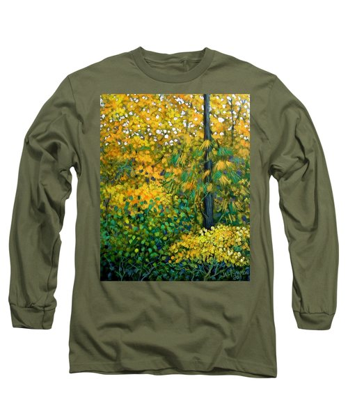 Southern Woods Long Sleeve T-Shirt by Jeanette Jarmon