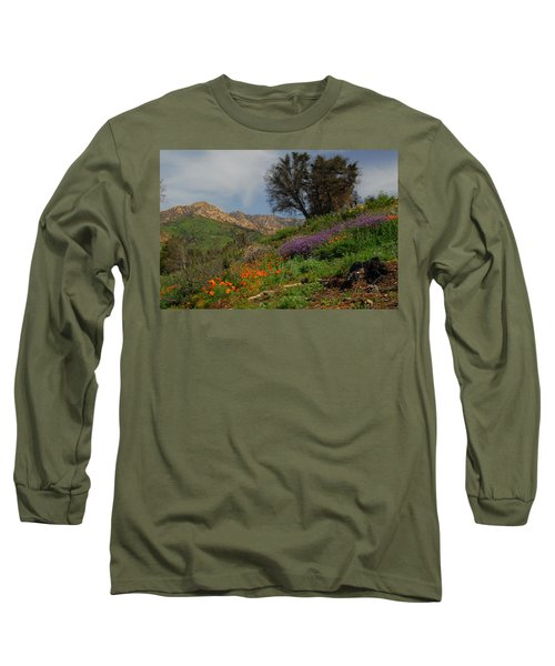 Long Sleeve T-Shirt featuring the photograph Spring In Santa Barbara by Lynn Bauer
