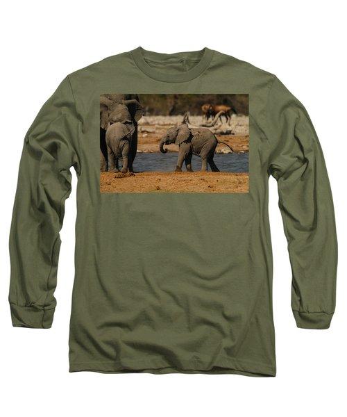 Start The Dance Long Sleeve T-Shirt