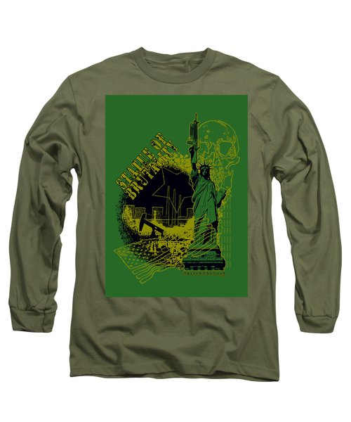 Statue Of Brutality  Long Sleeve T-Shirt by Tony Koehl