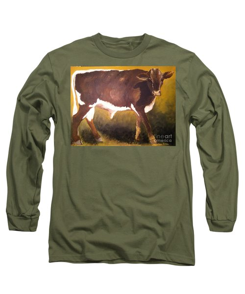 Steer Calf Long Sleeve T-Shirt