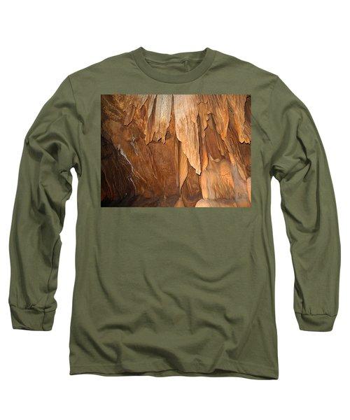 Stone Fold Elegance Long Sleeve T-Shirt