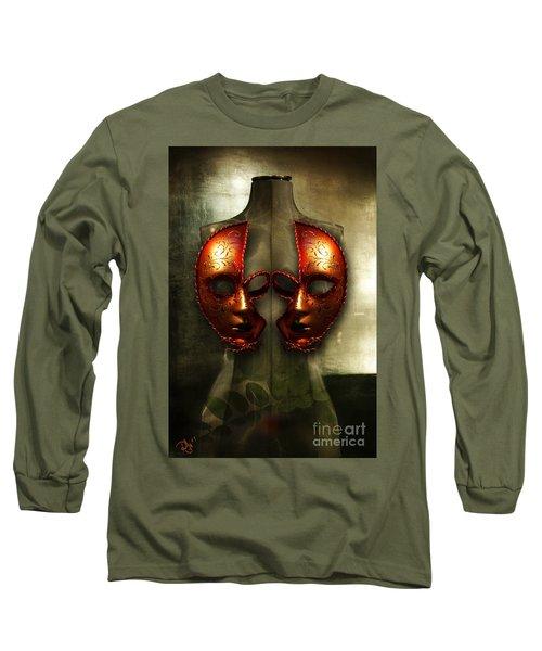 Suckling The Silence  Viriditas Long Sleeve T-Shirt