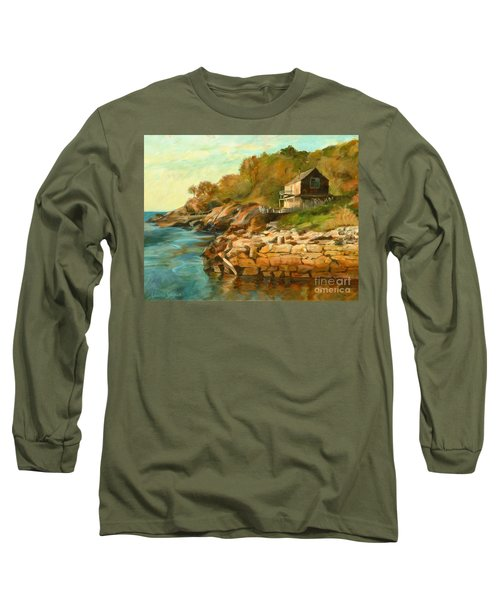 Summer Cottage Long Sleeve T-Shirt