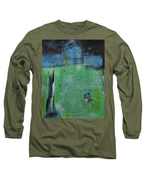 Long Sleeve T-Shirt featuring the painting Summer by Nicole Nadeau