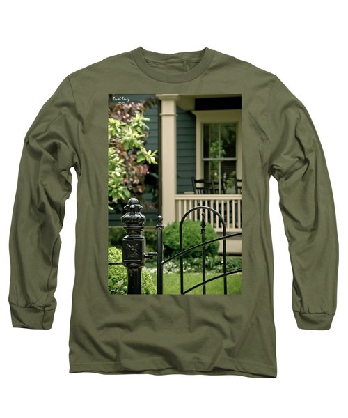 Sunday Afternoon In Doylestown Long Sleeve T-Shirt