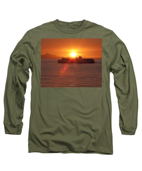 Sunset Long Sleeve T-Shirt by Eunice Gibb