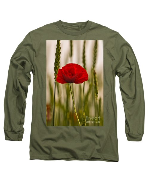 Long Sleeve T-Shirt featuring the photograph Sunset Glow. by Clare Bambers