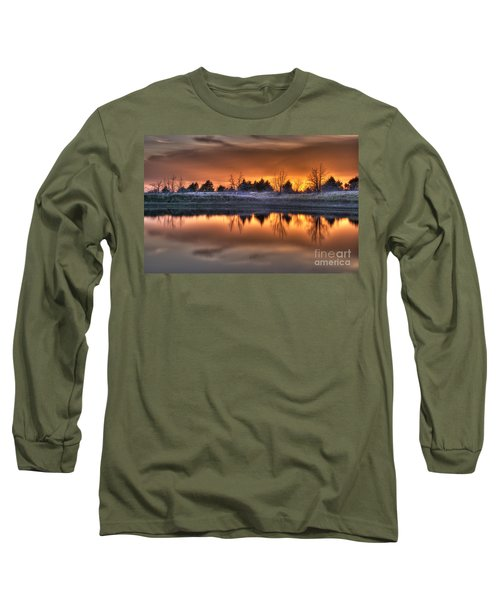 Sunset Over Bryzn Long Sleeve T-Shirt