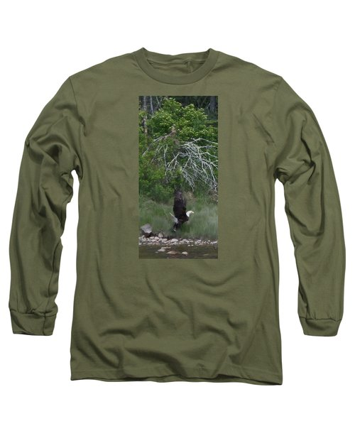 Long Sleeve T-Shirt featuring the photograph Taking Home The Catch by Francine Frank