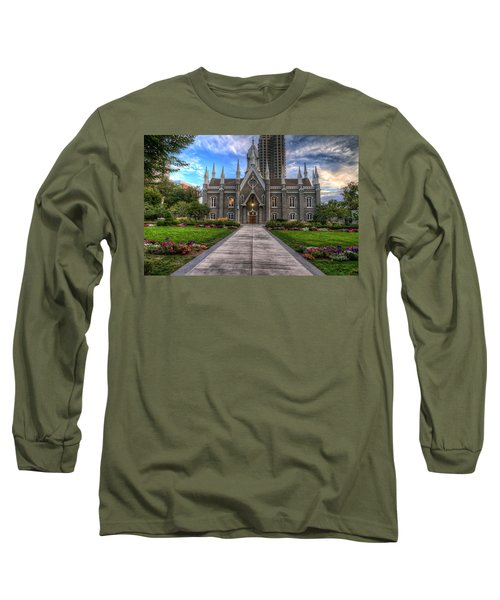 Temple Square Assembly Hall Long Sleeve T-Shirt