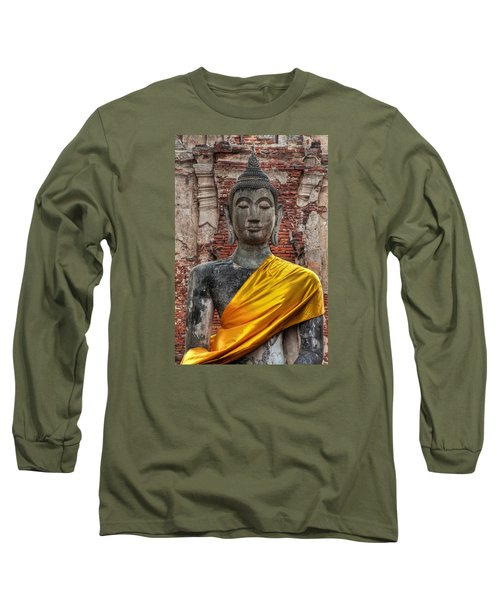 Thai Buddha Long Sleeve T-Shirt