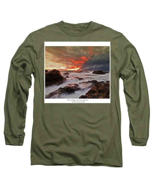 The Edge Of The Storm Long Sleeve T-Shirt