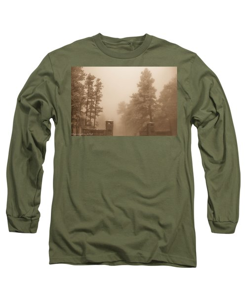 Long Sleeve T-Shirt featuring the photograph The Fog by Shannon Harrington