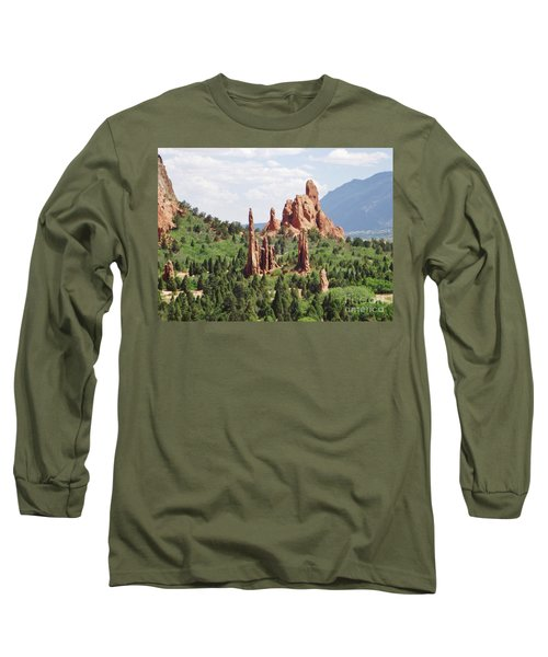 The Garden Of The Gods Long Sleeve T-Shirt