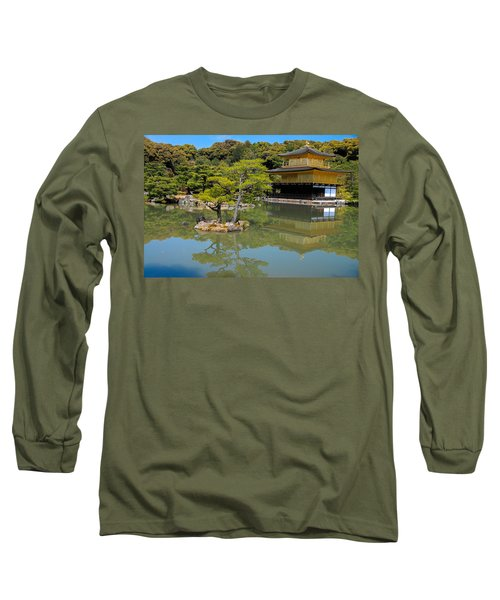 The Golden Pavilion Long Sleeve T-Shirt by Jonah  Anderson