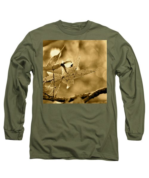 The Gum Leaf Long Sleeve T-Shirt by JD Grimes