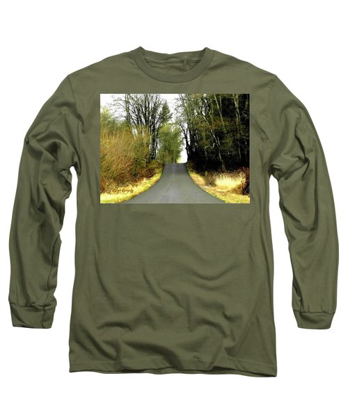 The High Road Long Sleeve T-Shirt by Sadie Reneau