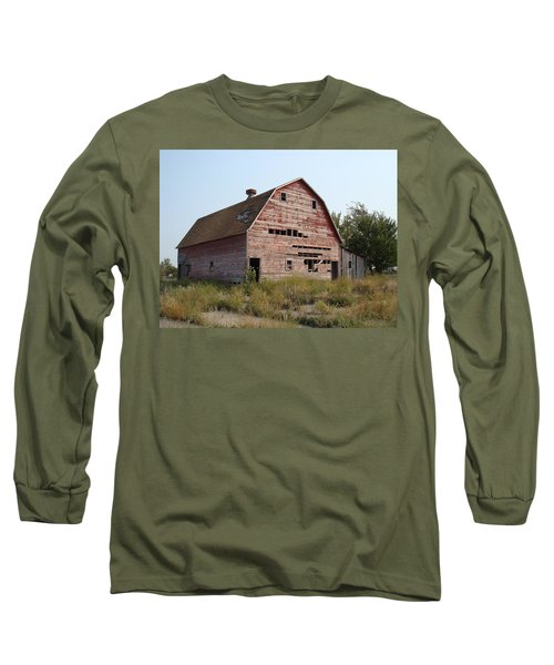 Long Sleeve T-Shirt featuring the photograph The Hole Barn by Bonfire Photography