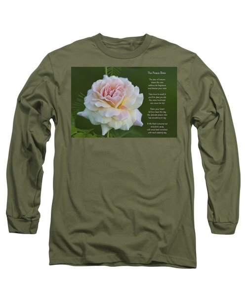 The Peace Rose Long Sleeve T-Shirt