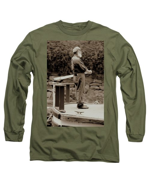 Long Sleeve T-Shirt featuring the photograph Timeless Serenity by Suzanne Stout