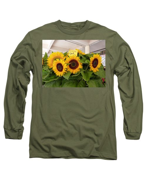 Tournesol Long Sleeve T-Shirt by Carla Parris