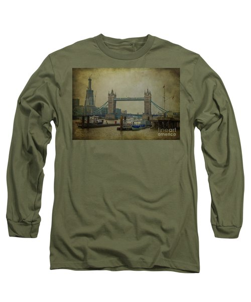 Long Sleeve T-Shirt featuring the photograph Tower Bridge. by Clare Bambers