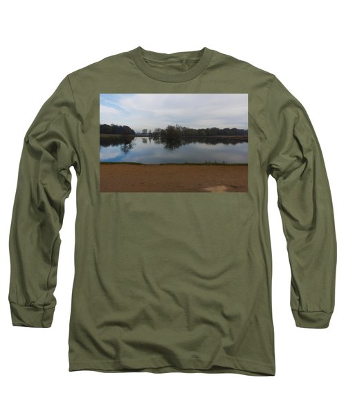 Long Sleeve T-Shirt featuring the photograph Tranquil by Maj Seda