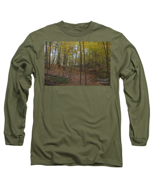 Long Sleeve T-Shirt featuring the photograph Tryon Park by William Norton