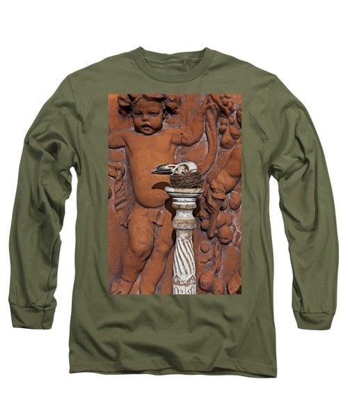 Turkey Vulture Skull Long Sleeve T-Shirt