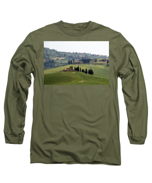 Tuscany Long Sleeve T-Shirt by Carla Parris