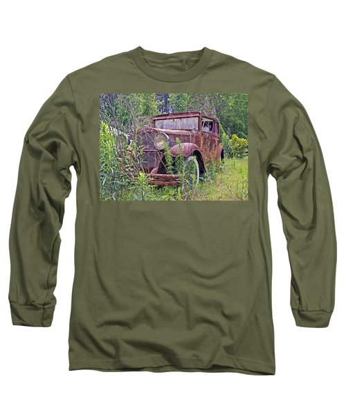 Long Sleeve T-Shirt featuring the photograph Vintage Automobile by Susan Leggett