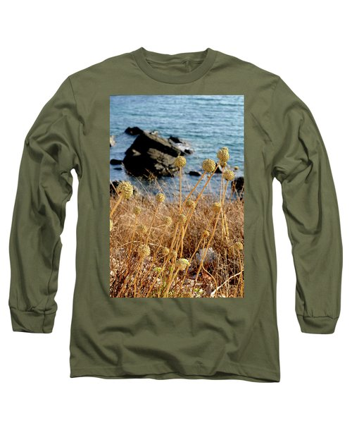 Long Sleeve T-Shirt featuring the photograph Watching The Sea 2 by Pedro Cardona