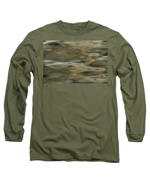 Long Sleeve T-Shirt featuring the photograph Water And Rocks  by Cathie Douglas