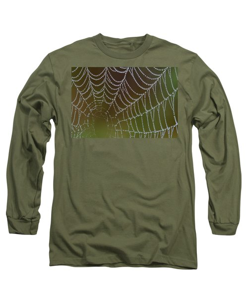 Web With Dew Long Sleeve T-Shirt