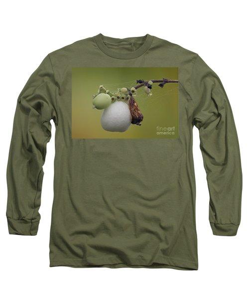 Webbed Berry Long Sleeve T-Shirt by Eunice Gibb