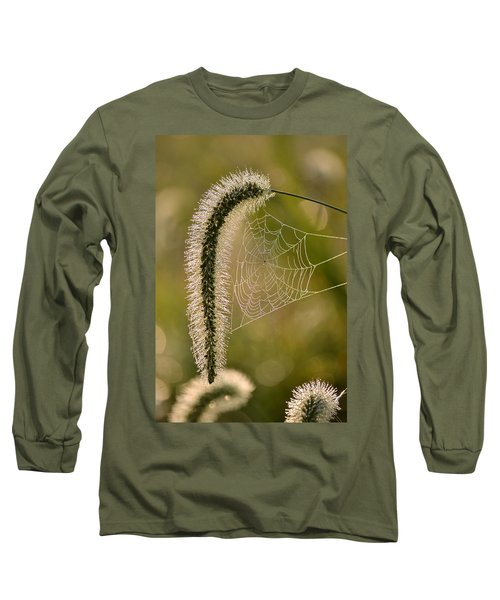 Webbed Tail Long Sleeve T-Shirt by JD Grimes
