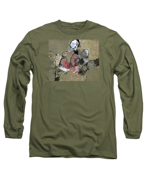 Long Sleeve T-Shirt featuring the painting Welterweight  by Cliff Spohn