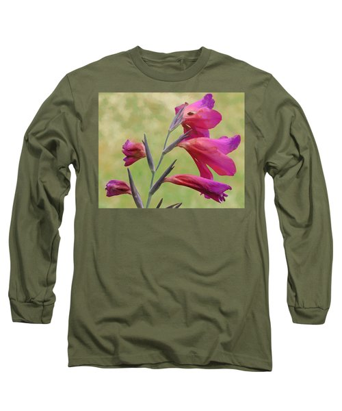 Long Sleeve T-Shirt featuring the digital art Which Way Did The Sun Go by Steve Taylor