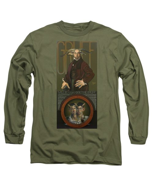 Willie Von Goethegrupf Long Sleeve T-Shirt by Patrick Anthony Pierson