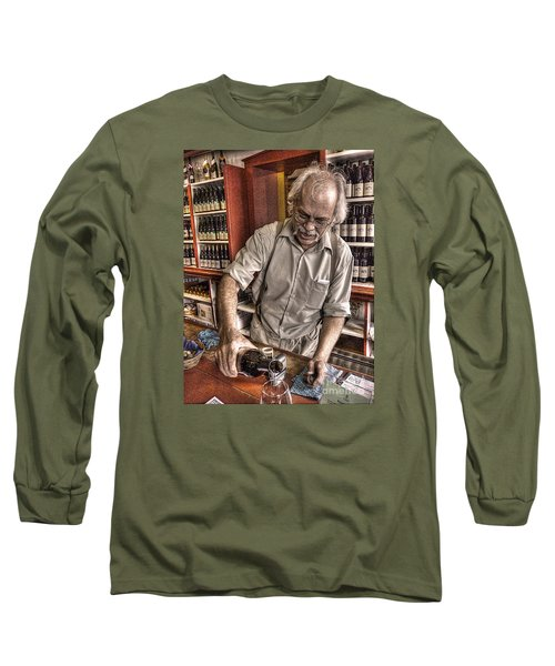 Long Sleeve T-Shirt featuring the photograph Wine I Know Was Made To Drink by William Fields