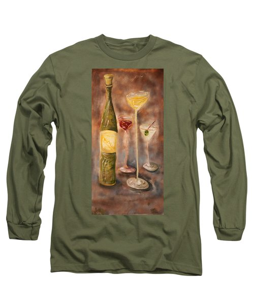 Wine Or Martini? Long Sleeve T-Shirt