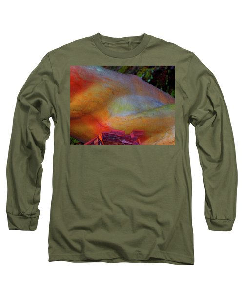 Long Sleeve T-Shirt featuring the digital art Wonder by Richard Laeton