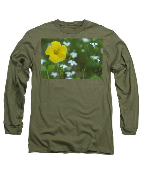 Wood Sorrel And Sandwort Long Sleeve T-Shirt