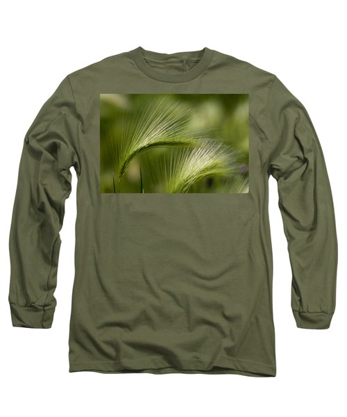 Wyoming Grassess Long Sleeve T-Shirt by Rich Franco