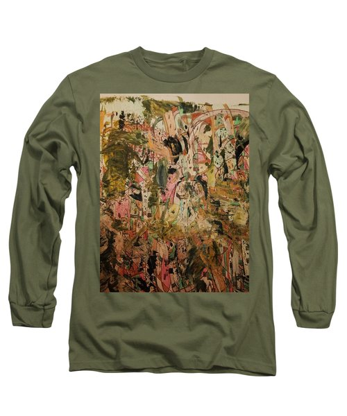 Long Sleeve T-Shirt featuring the painting  A Taste Of Italy by Nancy Kane Chapman
