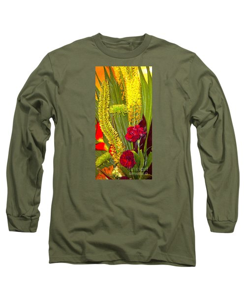 Artistic Floral Arrangement Long Sleeve T-Shirt