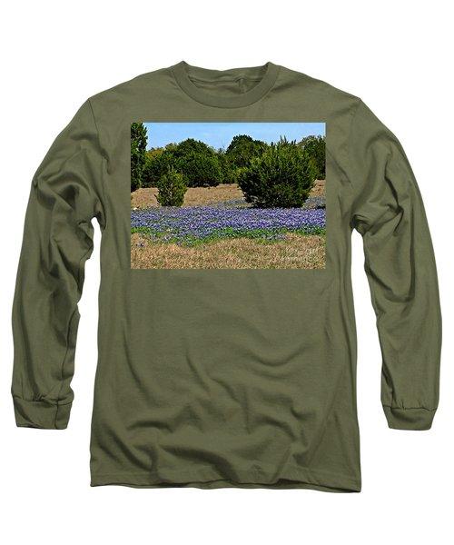 Bluebonnet Trail - No.2016 Long Sleeve T-Shirt