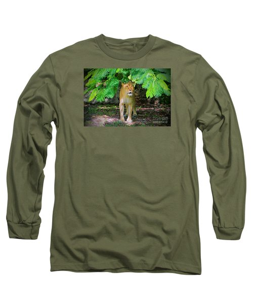 Long Sleeve T-Shirt featuring the painting  Emerging From The Shadows by Judy Kay