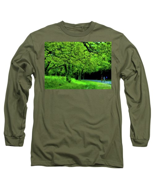 Faire Du Velo Long Sleeve T-Shirt